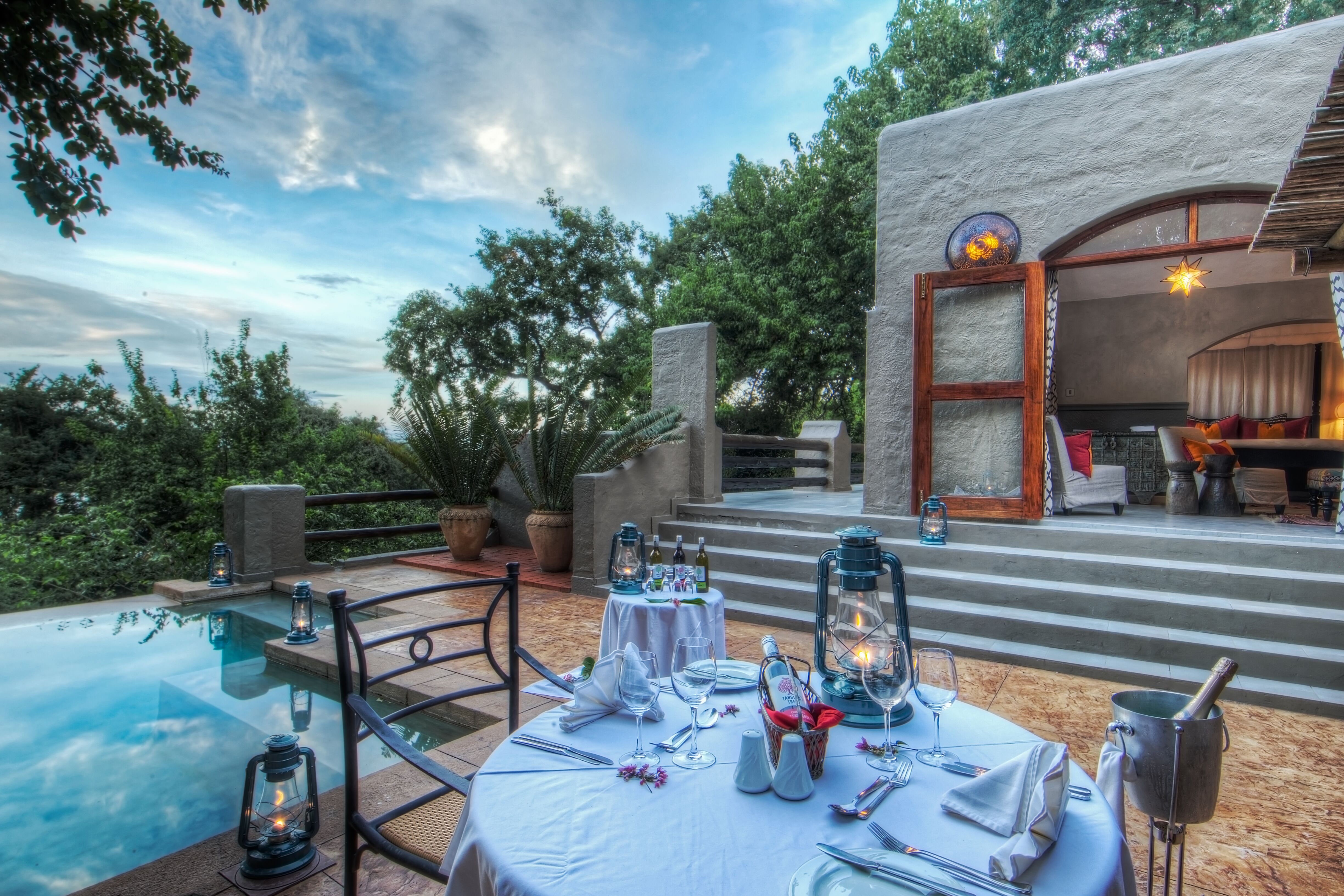 Chobe Game odge FAmily Suite Deck