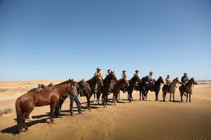 Horse Safaris in Namibia